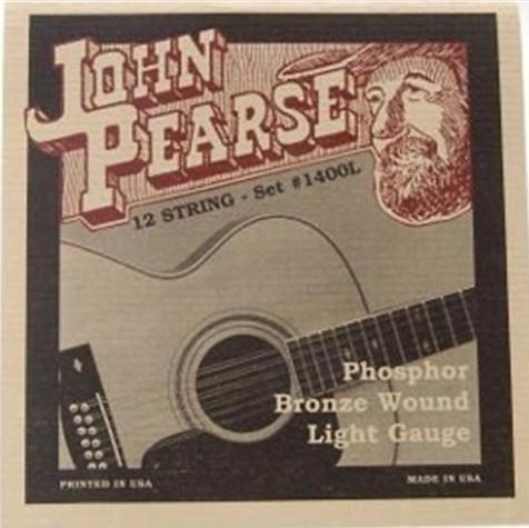 John Pearce 12-string 1400L Light  10-47 Phosphore Bronze