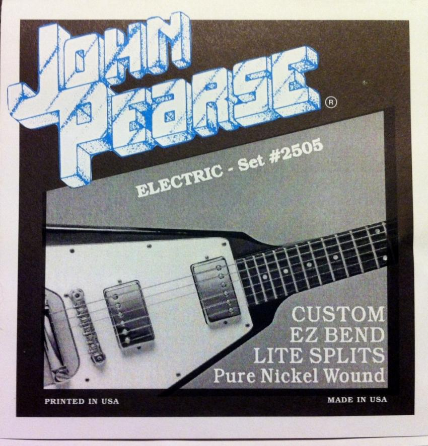 John Pearce 2505 Custom Light Splits 10-50 Pure Nickel Wound