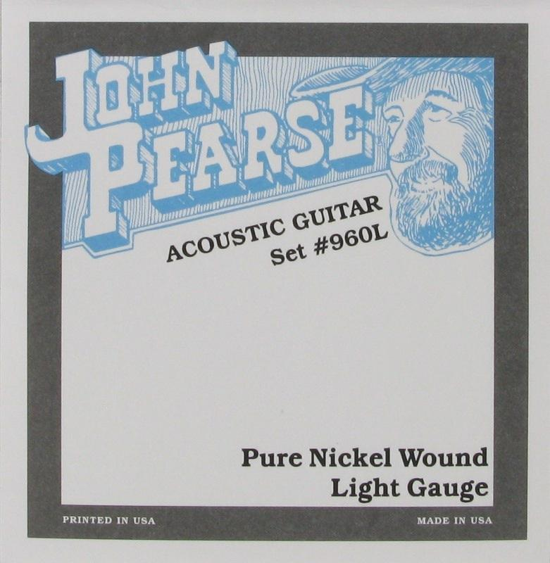 John Pearce 960L Light 12-54 Pure Nickel Wound