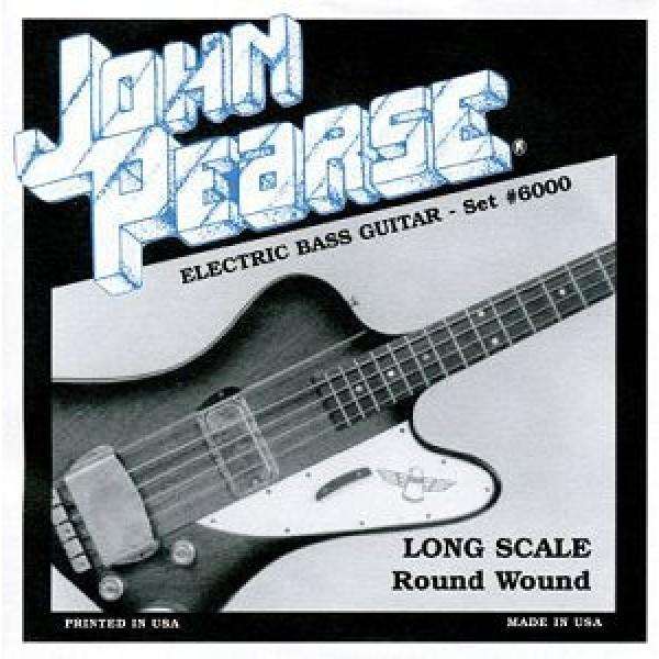 John Pearce 6000 Light--Long Scale 45-100 Pure Nickel Roundwound