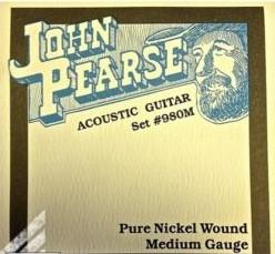 John Pearce 980M Medium 13-56 Pure Nickel Wound