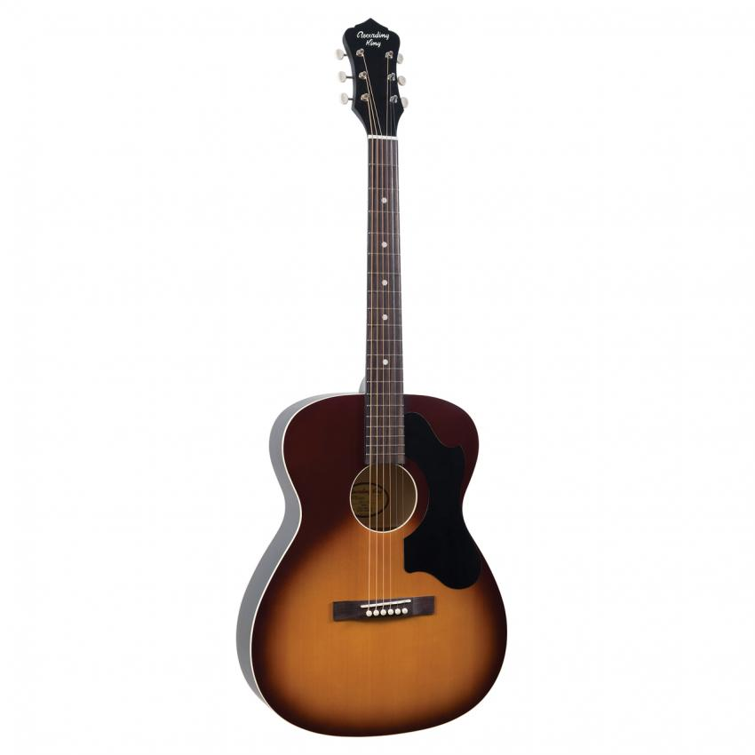 RECORDING KING ROS-9,Dirty 30s Series 9 000 Acoustic Guitar, Tobacco Sunburst